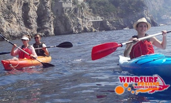 Kayak Rental And Excursions In Amalfi