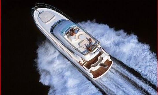 Jeanneau Prestige 46 Motor Yacht Charter In Sicily