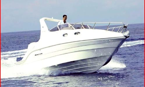 SeaCode 25' Cabin Motor Yacht Charter in Furnari, Sicily