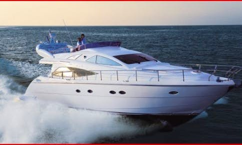 Aicon 56' Fly Motor Yacht Charter in Furnari, Sicily