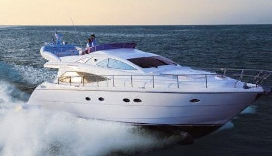 Aicon 56' Fly Motor Yacht Charter In Furnari, Sicily