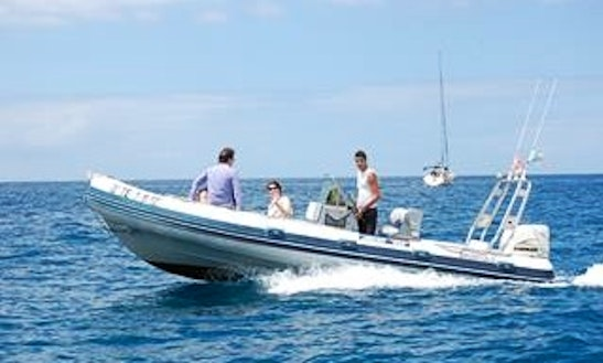 Private Speed Boat Charter In Santa Cruz De Tenerife, Spain