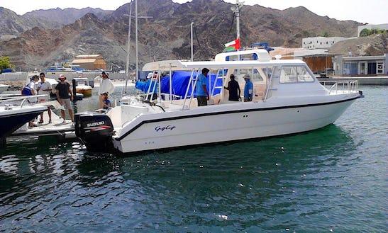 Sindbad-2 Cuddy Cabin/walk Around In Oman, Muscat