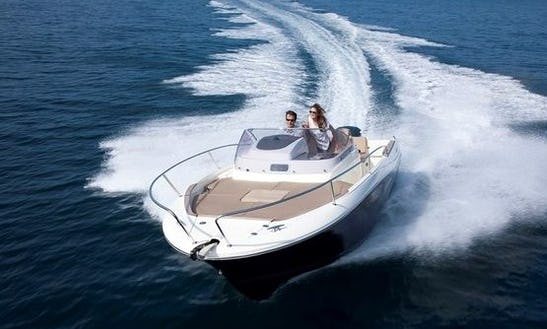Cap Camarat 755 Deck Boat Rental In Dubrovnik