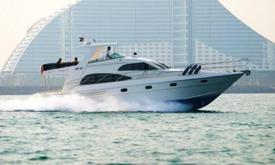 Enjoy Dubai On Majesty 50 Motor Yacht