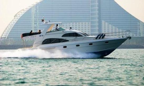 Enjoy Dubai On Majesty 50 Motor Yacht