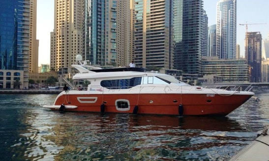 Charter Majesty 72 Power Yacht In Dubai, Uae