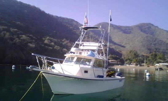 California Fishing Charter On 32ft
