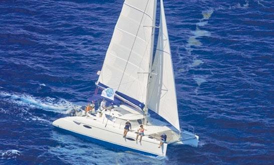 Charter 40' Catamaran, Lavezzi In Le Marin