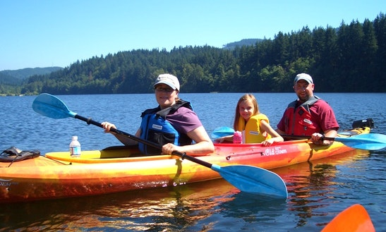 Tandem Sea Kayak Rental In Portland, Oregon