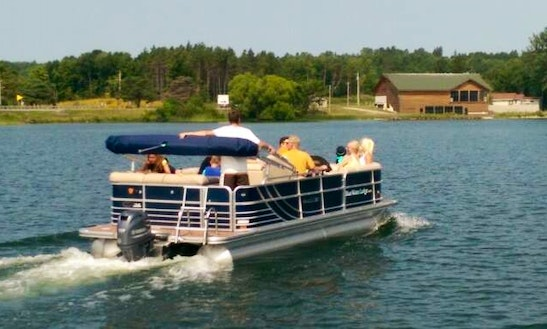 Pontoon Rental On Leech Lake