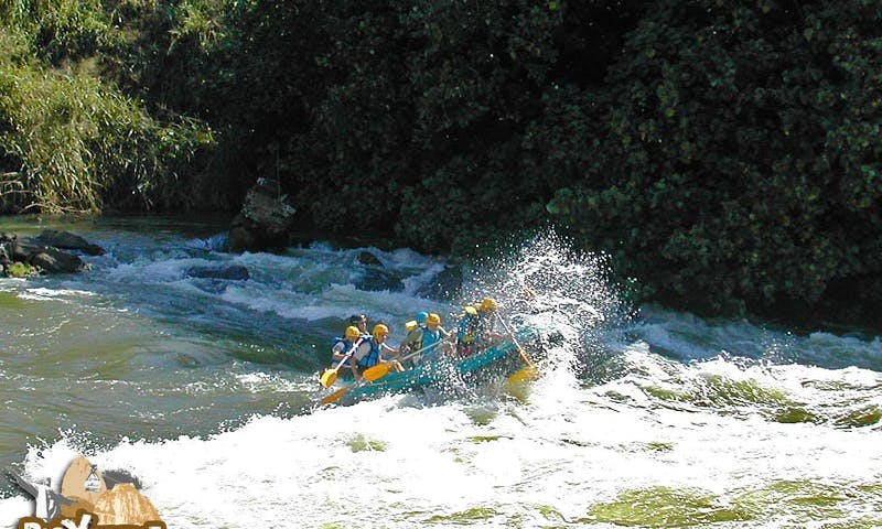 Rafting in Rio de Janeiro, Brazil
