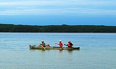 Canoe Rental on White Otter Lakes, Canada