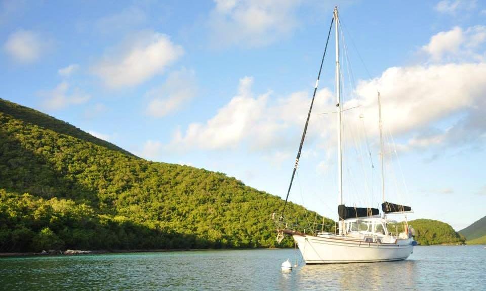 44' Irwin Ketch Sailing Yacht for Charter in St. Thomas, USVI