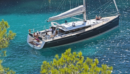 Sense 50 Cruising Monohull In Greece, Lavreotiki