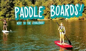 Standup Paddleboard Rental in Sooke