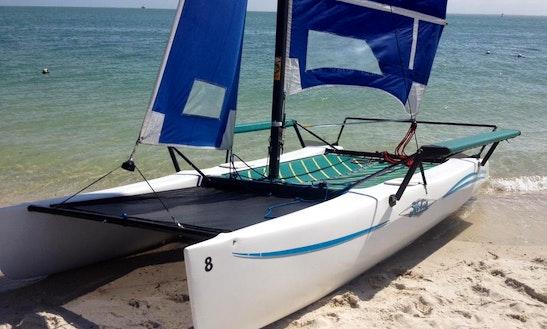 Hobie Wave - Beach Catamaran Rental In Fl, Key Biscayne