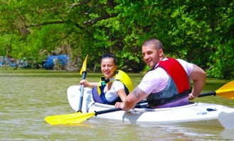 Kayak Rental in Varna, available with guides and BBQ