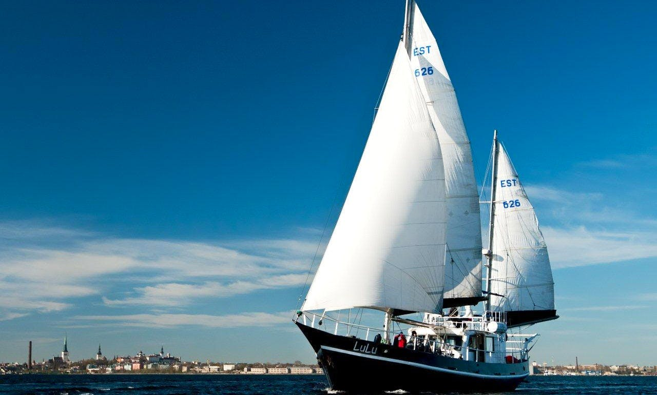 "Charter the 63' Sailing Schooner ""LuLu"" in Tallinn, Estonia"
