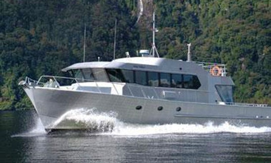Deep Cove Charter, Seafinn Yacht In Manapouri