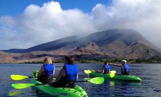 Olowalu Turtle Gardens Kayak Tour