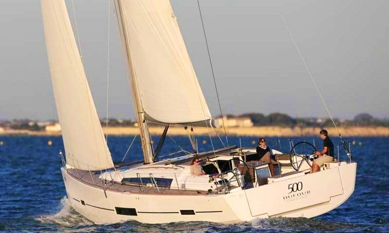 Dufour 500 Sailing Charter in Spain