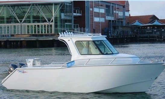 Enjoy 26 Ft Preston Craft For Rent In Exmouth, Western Australia