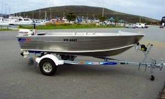 Enjoy 12' Tinny Jon Boat for Rent in Exmouth, Western Australia