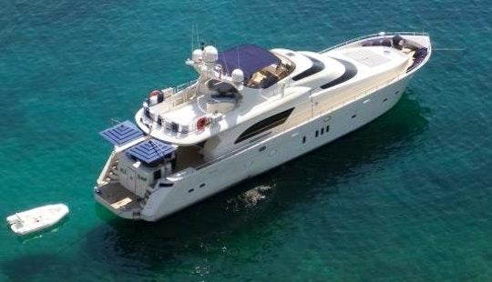 Captained Charter On The 85' De Birs Power Mega Yacht In Sardinia, Italy