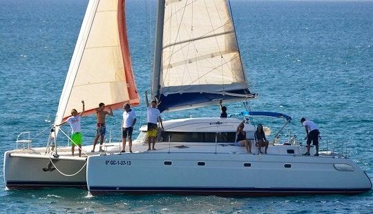 Fountaine Pajot Cruising Catamaran Charter In Playa Blanca