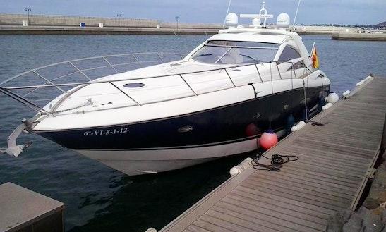 Charter Sunseeker Motor Yacht In Playa Blanca