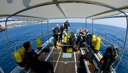 6 Dives On Rib Charter In Mallorca