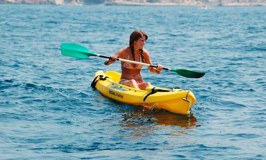 Single Or Double Kayak Rental In Mallorca