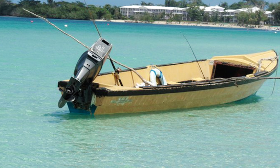 Jamaican Fishing Trip In Negril