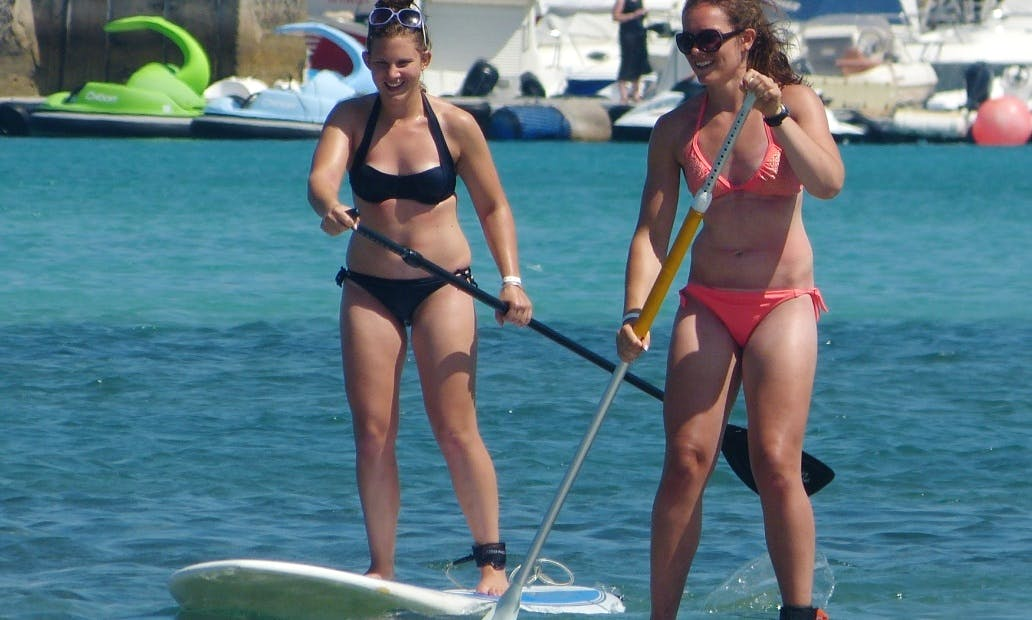 Paddleboard Rental at the Canary Surf Academy