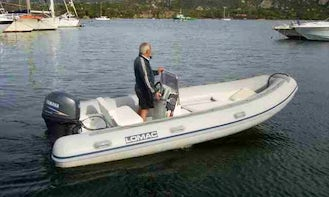 Hire this Lomac 540 Inflatable Boat in Cannigione