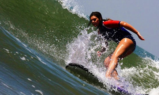 Surf Lessons In Goa, India