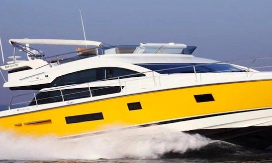 Ciao Bella Motor Yacht Hire In Dona Paula