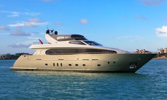 Luxury Cnc 95 Yacht Charter In Miami