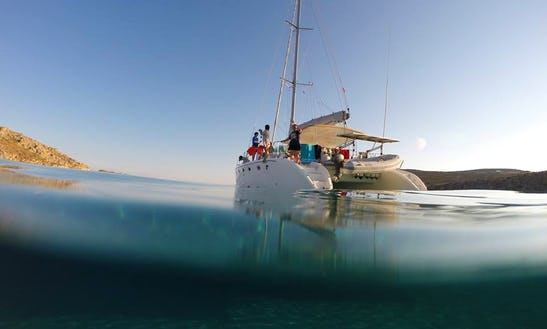 45' Cruising Catamaran Charter In Míkonos