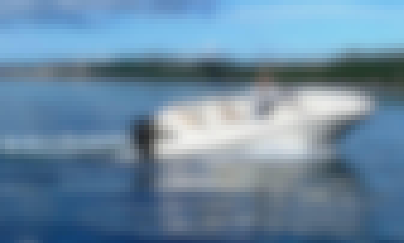 22' Motor Yacht Croatian Charter in Trogir