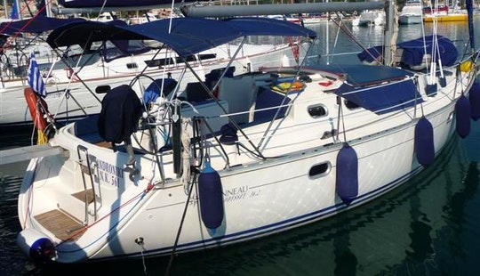 36ft Jeanneau Sun Odyssey Sailboat Rental In Corfu