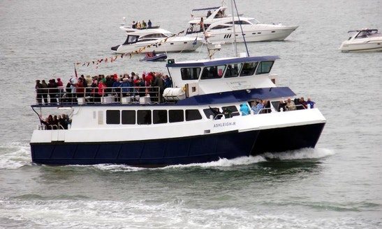 Charter Private Events Aboard