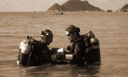 Technical Scuba Training in Ban Ko Tao