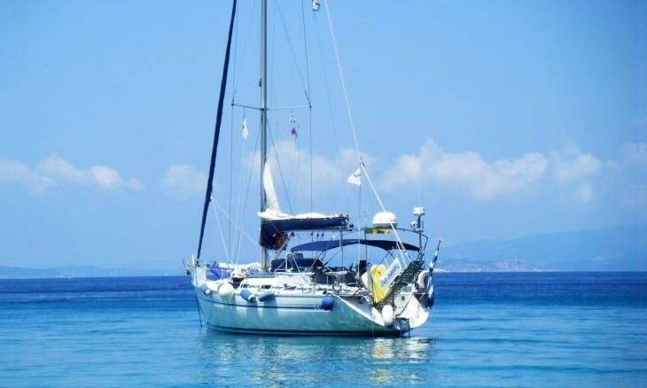 Captained Charter in Skiathos Day Sailing