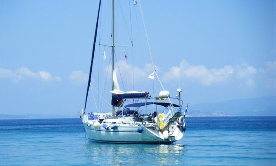 Captained Chater In Skiathos Day Sailing