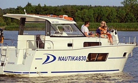 Nautika 830 27' Trawler Rental In Poland