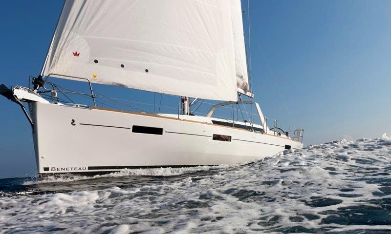 "41' Beneteau Oceanis ""Disco"" Cruising Monohull Charter in Montenegro"