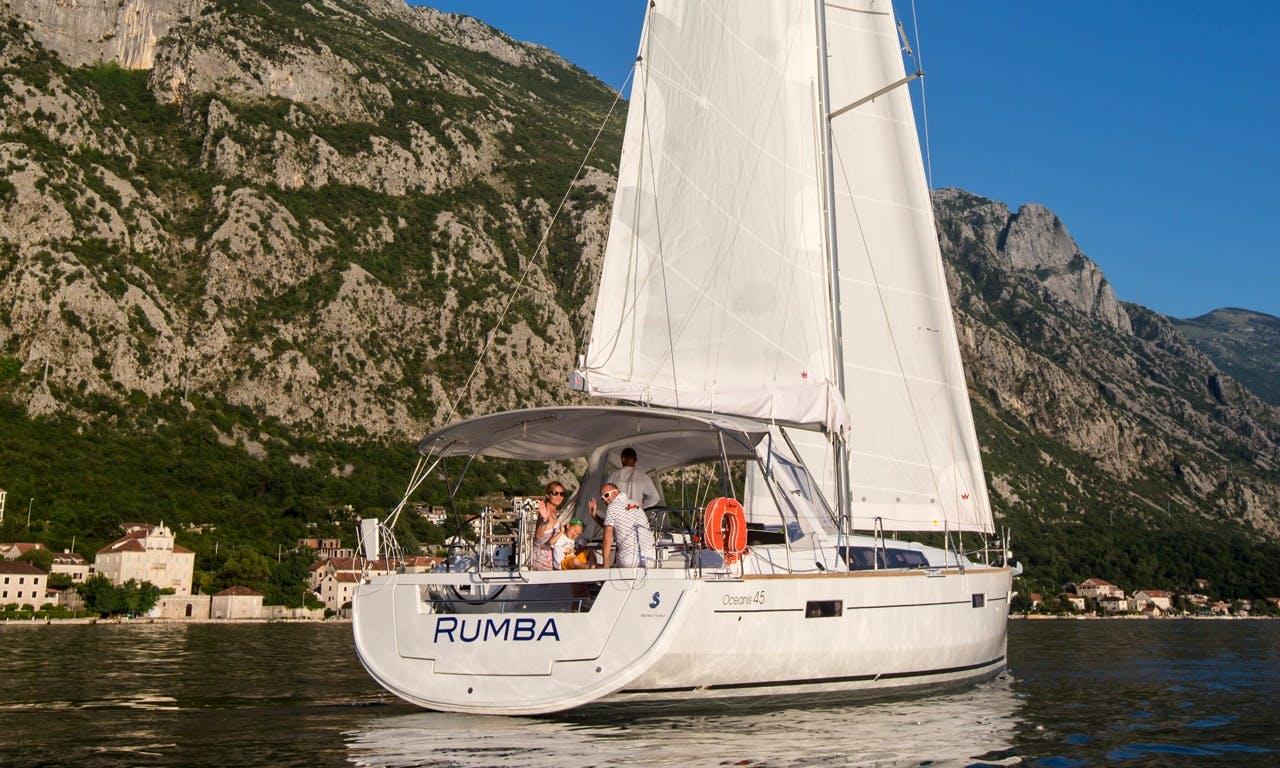 """Oceanis 45' """"Rumba"""" Cruising Monohull Charter in Montenegro"""