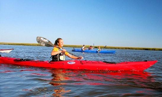 Charter Canoe In Swornegacie